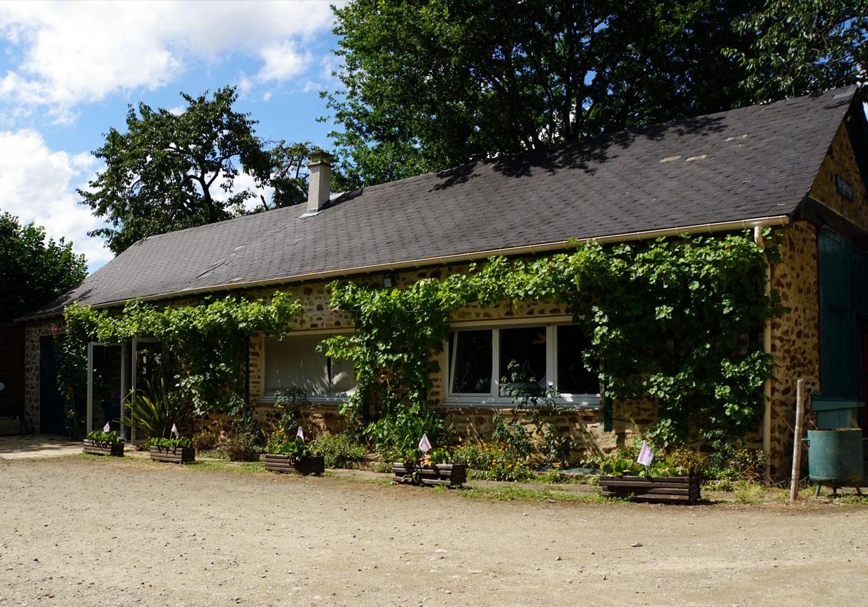 gite Mayenne salle indépendante